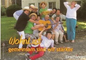 Wohnlust-Postkarte