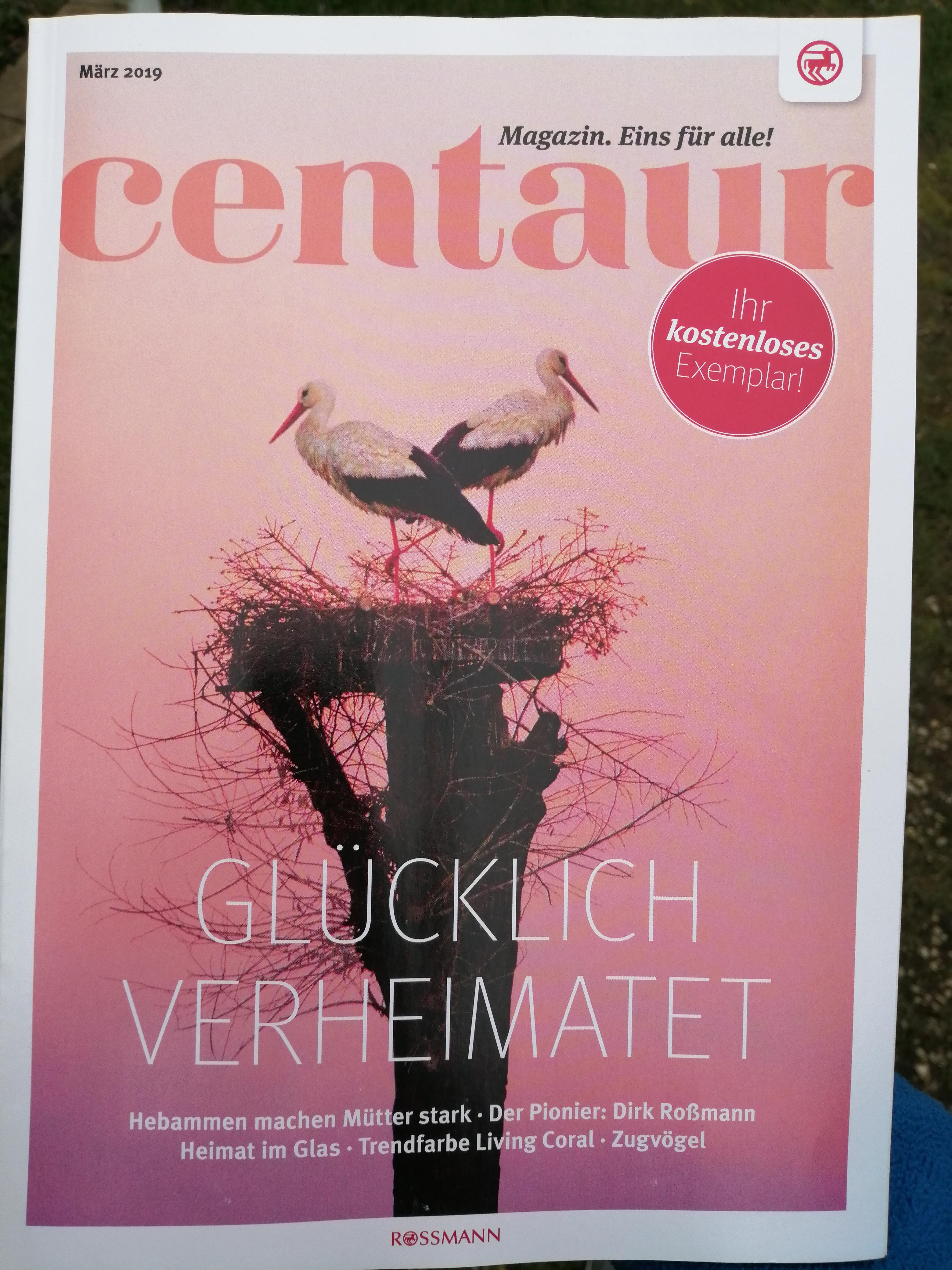 Centaur März 2019 Cover
